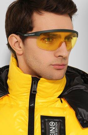 Женские солнцезащитные очки RALPH LAUREN желтого цвета, арт. 4156-582085 | Фото 3