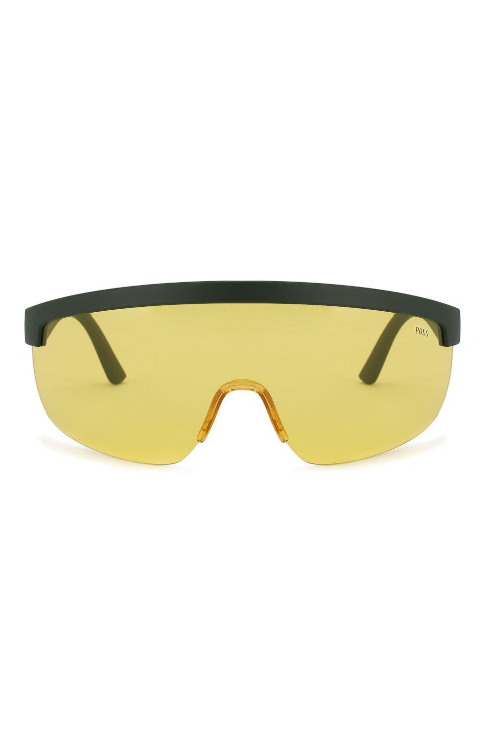 Женские солнцезащитные очки RALPH LAUREN желтого цвета, арт. 4156-582085 | Фото 4