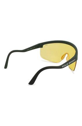 Женские солнцезащитные очки RALPH LAUREN желтого цвета, арт. 4156-582085 | Фото 5