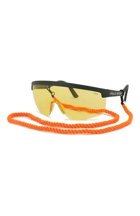 Женские солнцезащитные очки RALPH LAUREN желтого цвета, арт. 4156-582085 | Фото 7