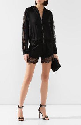 Женские шелковые шорты TOM FORD черного цвета, арт. SH0005-FAX069 | Фото 2