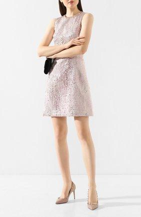 Женская кожаные туфли valentino garavani rockstud VALENTINO бежевого цвета, арт. TW2S0A04/VCE | Фото 2