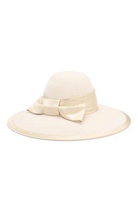 Женская фетровая шляпа GUCCI белого цвета, арт. 603493/3HJ17   Фото 2