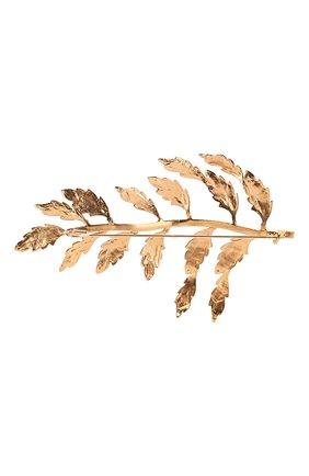 брошь DOLCE & GABBANA золотого цвета, арт. WPM2C2/W1111 | Фото 2
