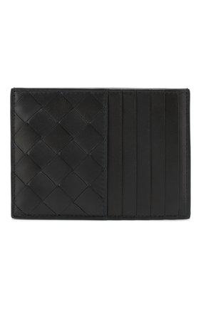Женский кожаный футляр для кредитных карт BOTTEGA VENETA темно-синего цвета, арт. 608088/VCPP3 | Фото 1