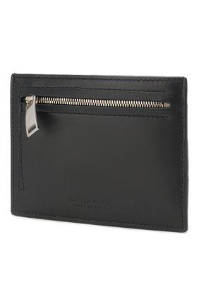 Женский кожаный футляр для кредитных карт BOTTEGA VENETA темно-синего цвета, арт. 608088/VCPP3 | Фото 2