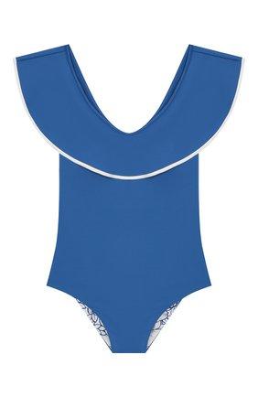 Детского слитный купальник MARYSIA BUMBY синего цвета, арт. B0080   Фото 1