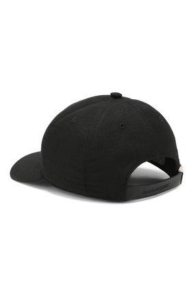 Мужской бейсболка ALEXANDER MCQUEEN черного цвета, арт. 601364/4C09Q | Фото 2