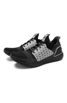 Мужские текстильные кроссовки adidas x neighborhood ultraboost 19 ADIDAS черного цвета, арт. FU7312   Фото 1