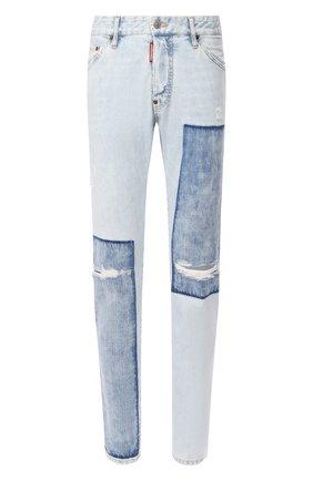 Мужские джинсы DSQUARED2 голубого цвета, арт. S74LB0663/S30309 | Фото 1