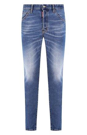 Мужские джинсы DSQUARED2 синего цвета, арт. S74LB0668/S30662 | Фото 1