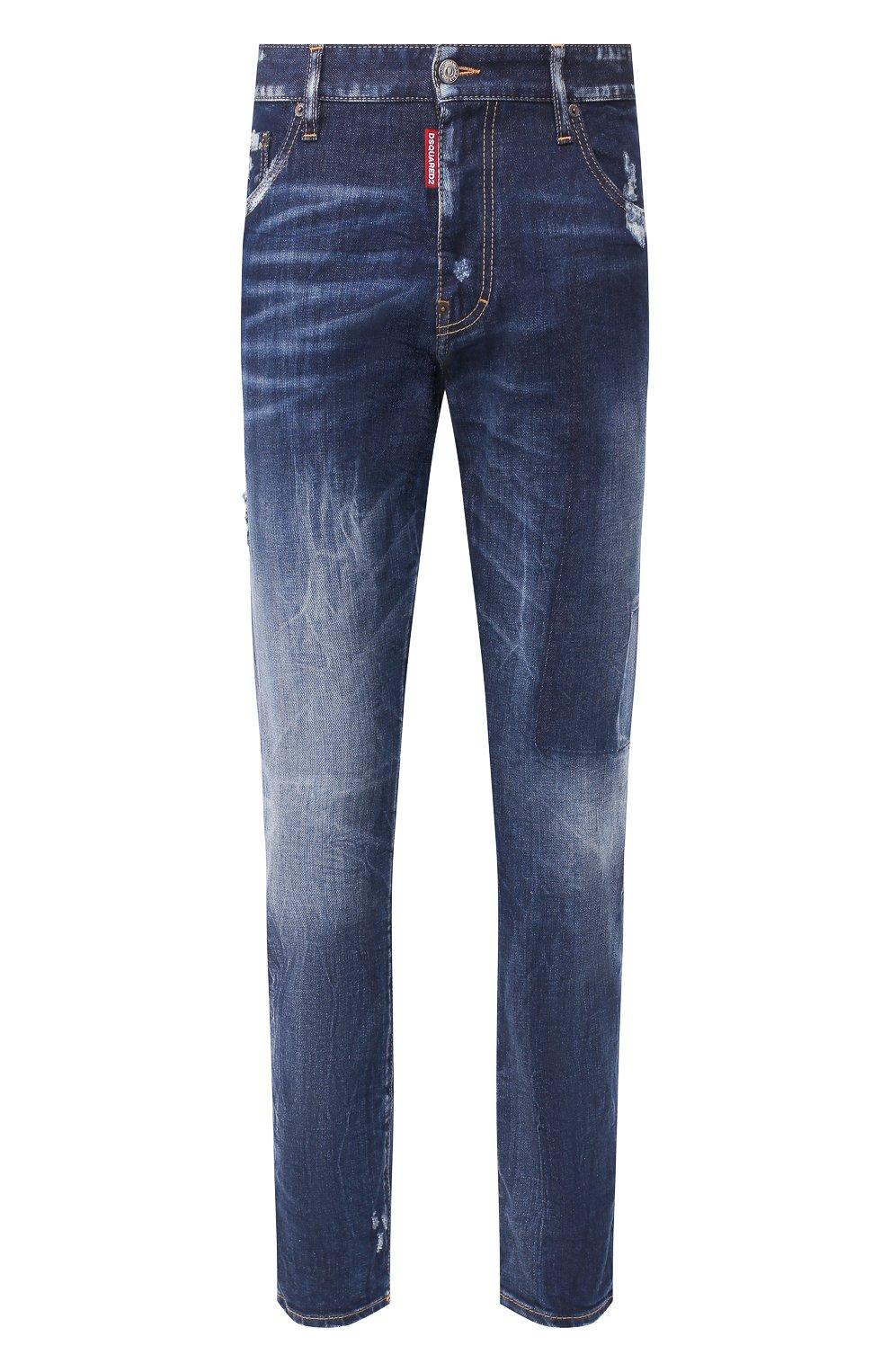Мужские джинсы DSQUARED2 синего цвета, арт. S74LB0684/S30663 | Фото 1