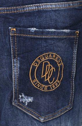 Мужские джинсы DSQUARED2 синего цвета, арт. S74LB0684/S30663 | Фото 5