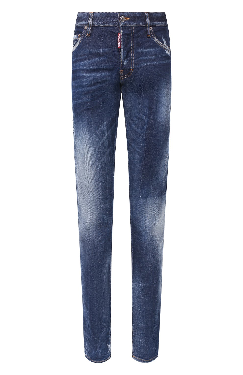 Мужские джинсы DSQUARED2 синего цвета, арт. S74LB0685/S30663 | Фото 1