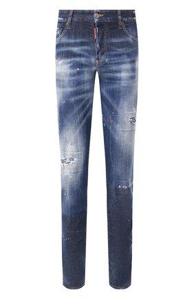 Мужские джинсы DSQUARED2 синего цвета, арт. S74LB0688/S30342 | Фото 1