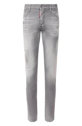 Мужские джинсы DSQUARED2 серого цвета, арт. S74LB0693/S30260 | Фото 1