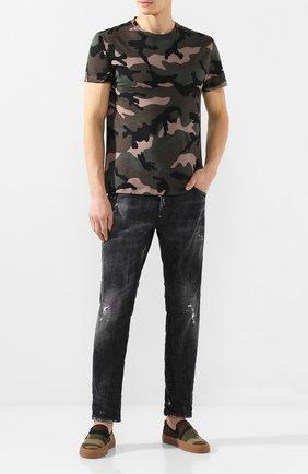 Мужские джинсы DSQUARED2 черного цвета, арт. S74LB0698/S30357 | Фото 2