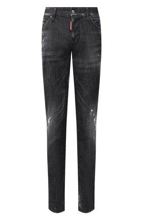 Мужские джинсы DSQUARED2 черного цвета, арт. S74LB0699/S30357   Фото 1