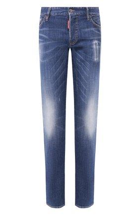 Мужские джинсы DSQUARED2 синего цвета, арт. S74LB0717/S30342 | Фото 1