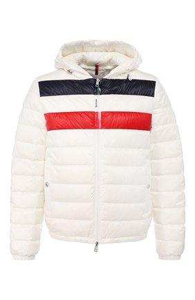 Мужская пуховая куртка kourou MONCLER белого цвета, арт. F1-091-1A117-00-C0453 | Фото 1