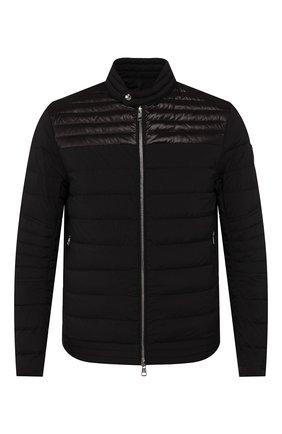 Мужская пуховая куртка cyr MONCLER черного цвета, арт. F1-091-1A504-00-53132 | Фото 1
