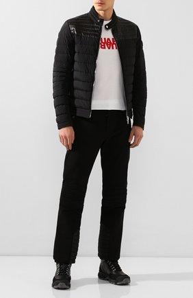 Мужская пуховая куртка cyr MONCLER черного цвета, арт. F1-091-1A504-00-53132 | Фото 2