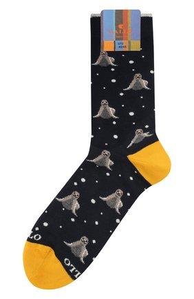 Мужские хлопковые носки GALLO темно-синего цвета, арт. AP508633 | Фото 1