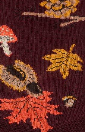 Мужские хлопковые носки GALLO бордового цвета, арт. AP508628 | Фото 2