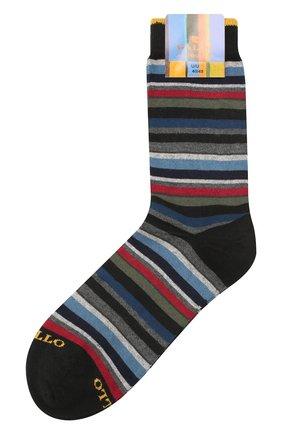 Мужские носки из смеси хлопка и кашемира GALLO разноцветного цвета, арт. AP102853 | Фото 1