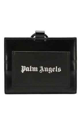 Мужской футляр для кредитных карт PALM ANGELS черного цвета, арт. PMNH001R207230011091 | Фото 1