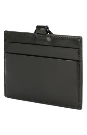 Мужской футляр для кредитных карт PALM ANGELS черного цвета, арт. PMNH001R207230011091 | Фото 2