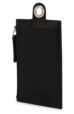 Мужской кожаный футляр для кредитных карт MARCELO BURLON черного цвета, арт. CMND007R20LEA001 | Фото 2