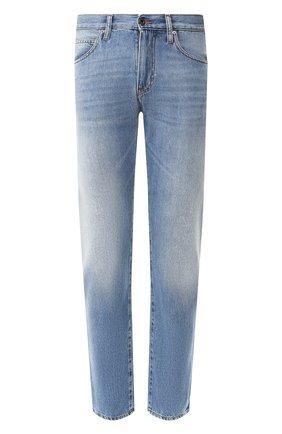 Мужские джинсы EMPORIO ARMANI голубого цвета, арт. 3H1J45/1D9RZ | Фото 1