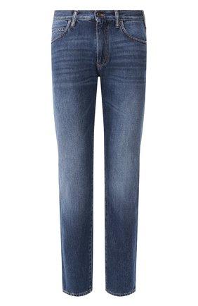 Мужские джинсы EMPORIO ARMANI синего цвета, арт. 3H1J45/1D9RZ | Фото 1