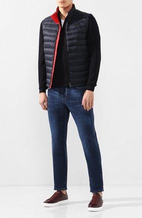 Мужские кожаные кеды H`D`S`N BARACCO бордового цвета, арт. BRYAN.26* | Фото 2 (Подошва: Массивная; Материал внутренний: Натуральная кожа)