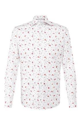 Мужская хлопковая сорочка ETON белого цвета, арт. 1000 00494   Фото 1