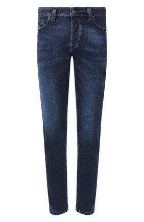 Мужские джинсы DIESEL темно-синего цвета, арт. 00SU1X/0095T | Фото 1