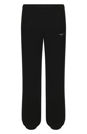 Мужской хлопковые джоггеры OFF-WHITE черного цвета, арт. 0MCH020R20D250171001 | Фото 1