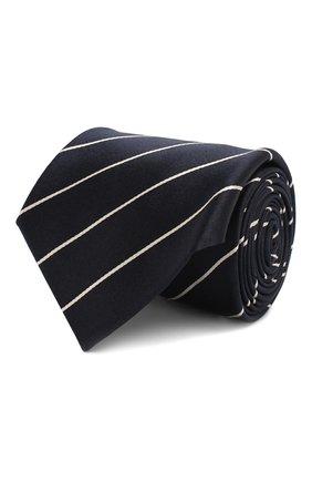Мужской шелковый галстук RALPH LAUREN темно-синего цвета, арт. 791572348 | Фото 1