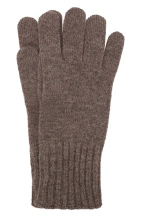 Мужские кашемировые перчатки CRUCIANI темно-бежевого цвета, арт. MG5 | Фото 1