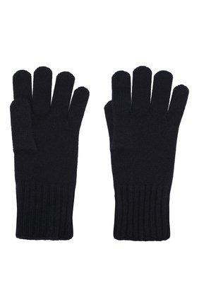 Мужские кашемировые перчатки CRUCIANI темно-синего цвета, арт. MG5 | Фото 2