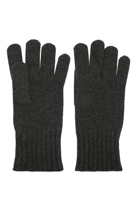 Мужские кашемировые перчатки CRUCIANI темно-серого цвета, арт. MG5 | Фото 2