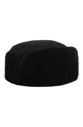 Мужская шапка из меха норки FURLAND черного цвета, арт. 0015102110147600130 | Фото 1