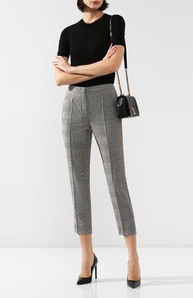 Женские шерстяные брюки ESCADA серого цвета, арт. 5031929 | Фото 2