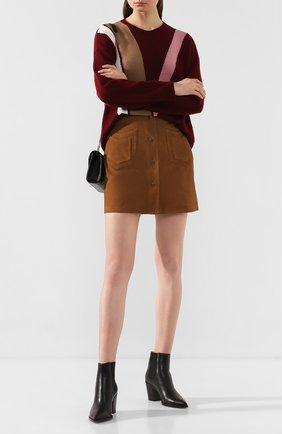 Замшевая юбка | Фото №2