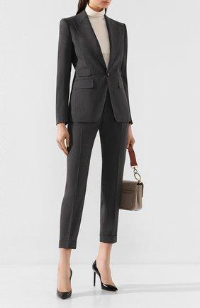 Женский шерстяной костюм DSQUARED2 серого цвета, арт. S75FT0199/S40320 | Фото 1