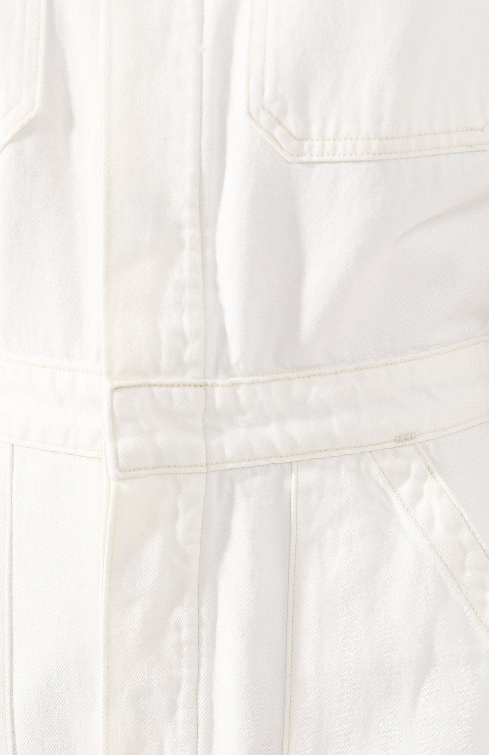 Женский джинсовый комбинезон CITIZENS OF HUMANITY белого цвета, арт. 1741-1114 | Фото 5