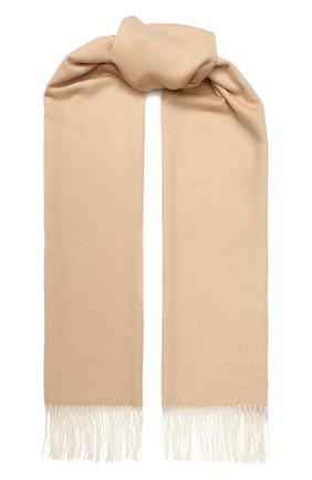 Мужские кашемировый шарф two-tone LORO PIANA светло-бежевого цвета, арт. FAI0988 | Фото 1
