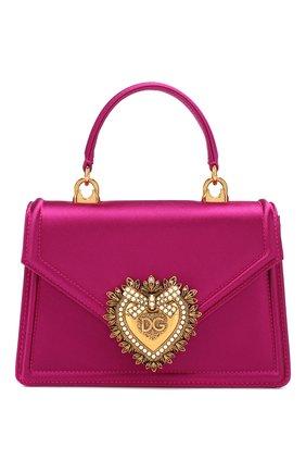 Женский сумка devotion small DOLCE & GABBANA фуксия цвета, арт. BB6711/A7630   Фото 1