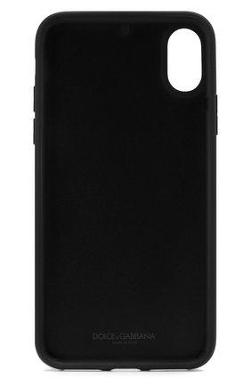 Мужской чехол для iphone x/xs DOLCE & GABBANA красного цвета, арт. BI2408/AZ529 | Фото 2